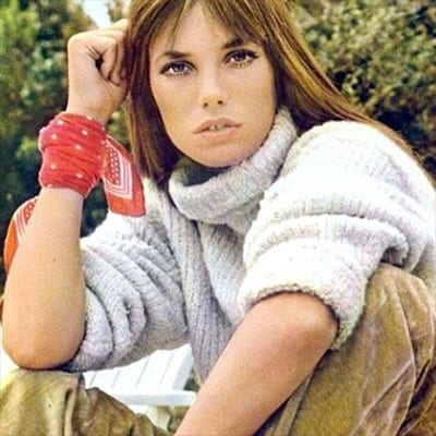 Looking to start a culture revolution? Tie a red bandana on your wrist and channel your inner Jane Birkin.