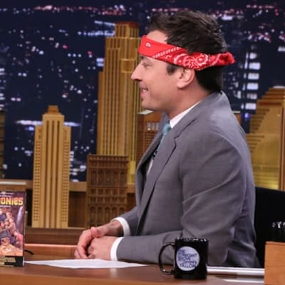 Jimmy Fallon gets his Goonies on.
