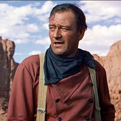 When you wear a blue bandana like John Wayne, people will know better than to mess with you.