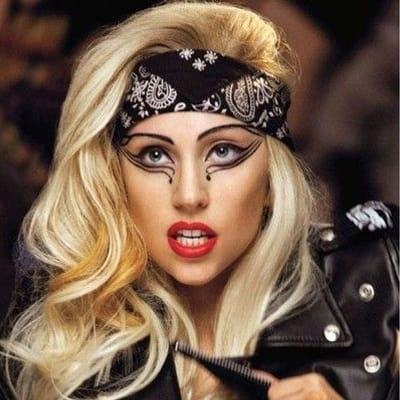 You can Do What U Want like Lady Gaga, but take our suggestion and do it in a black bandana.