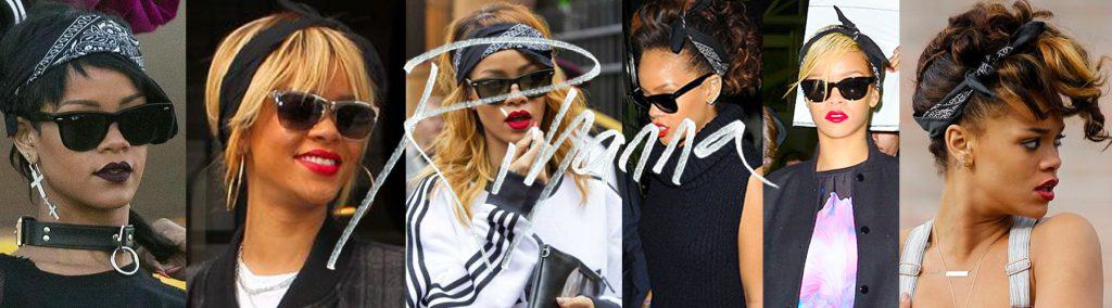 Rihanna is far from the Only Girl in the World who loves wearing a black bandana.