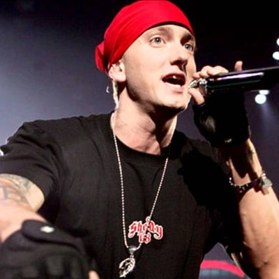 Sometimes it's hard dealing with real life, but keep truckin' like Eminem.