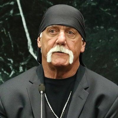 Here's what Hulk Hogan looks like when he's not wearing Spandex.