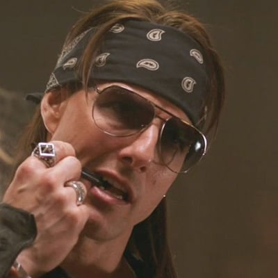 Get your groove on in a paisley bandana like Tom Cruise in Rock of Ages.